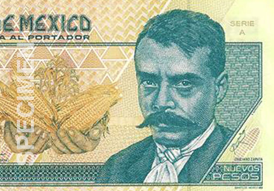 emiliano-zapata-mexico-10-pesos
