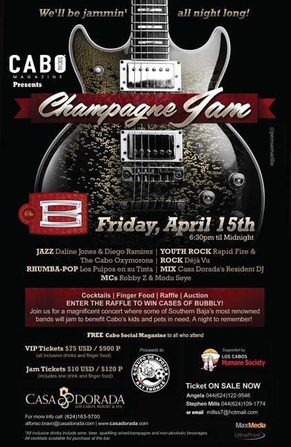 Cabo Champagne Jam, April 15, 2011