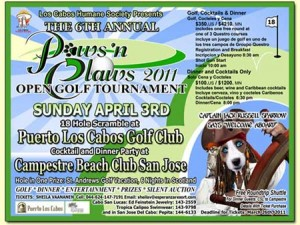 Los Cabos Humane Society Paws 'n Claws 2011