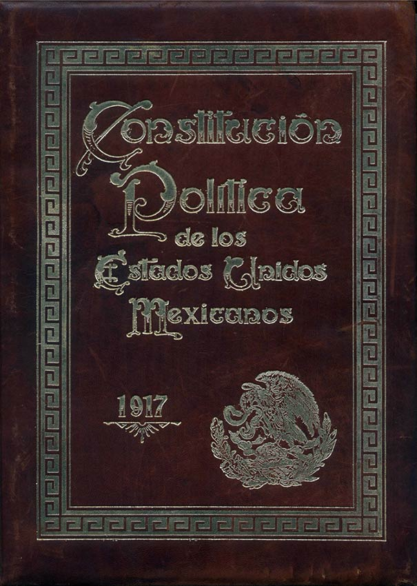 united states mexican constitution The constitution of mexico, formally the political constitution of the united mexican states (spanish: constitución política de los estados unidos mexicanos) is the.