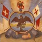 Hidalgo's Flag - Modern Replica. Guanajuato Gobierno del Estado