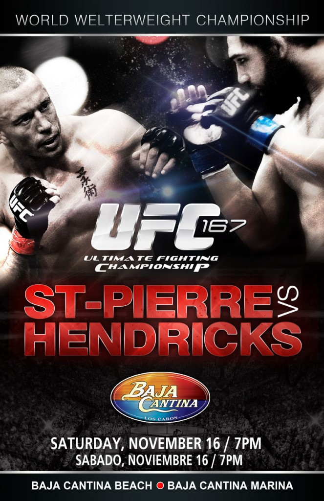 UFC St Pierre vs Hendricks