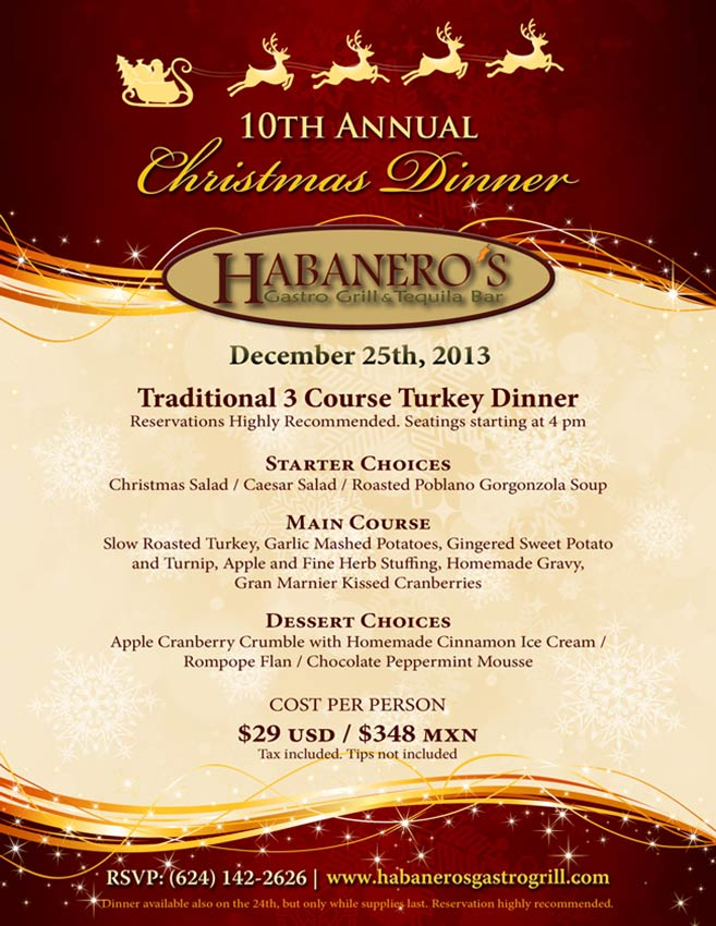 habaneros-grill-christmans-dinner-2013