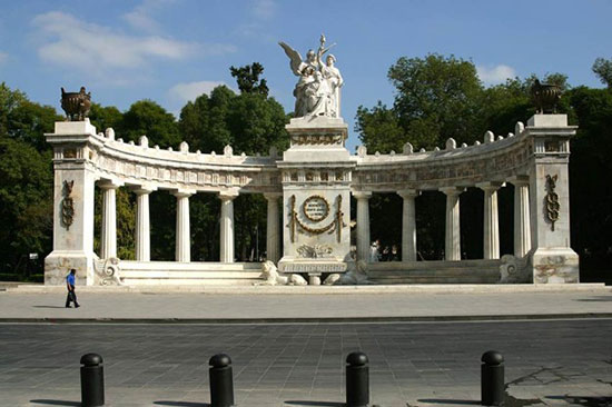Chamber of Benito Juarez (Hemiciclo a Benito Juárez). Neoclassical monument made of marble to Benito Juarez, Mexico's first indigenous president. Located in the Historic Center of Mexico City. Photo © Can Stock Photo Inc. | demerzel21