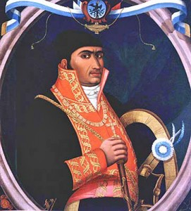 Retrato de José María Morelos y Pavón / Date: 7 September 2006. Author:  Anónimo, del siglo XIX This image is in the public domain.