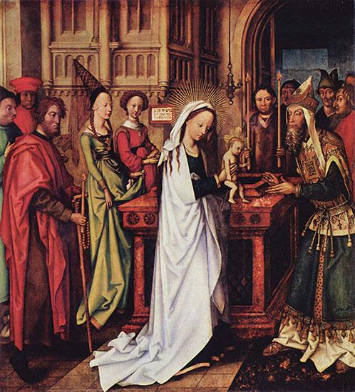 Artist: Holbein d. Ä., Artist: Holbein d. Ä., Hans;  Date: 1500-1501; Medium: color on wood.  http://commons.wikimedia.org/wiki/