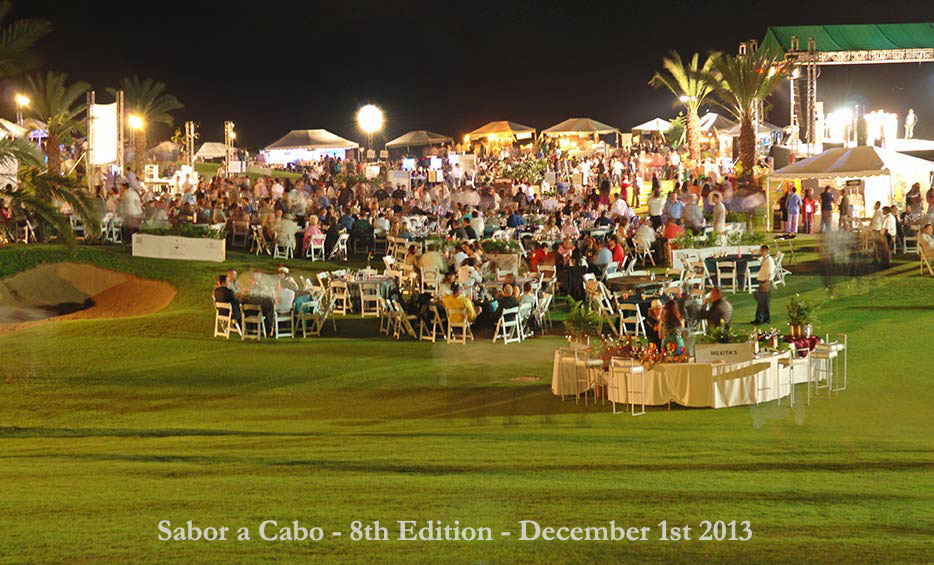 The 8th Annual 2013 Sabor a Cabo (The Flavors of Cabo) event was held at Campestre San Jose del Cabo, owned and operated by Grupo Questro.