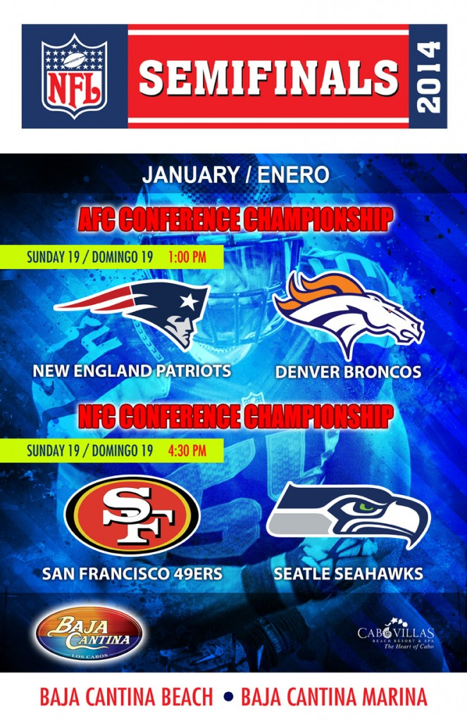 Semifinals Champion ship NFL 2013 CV