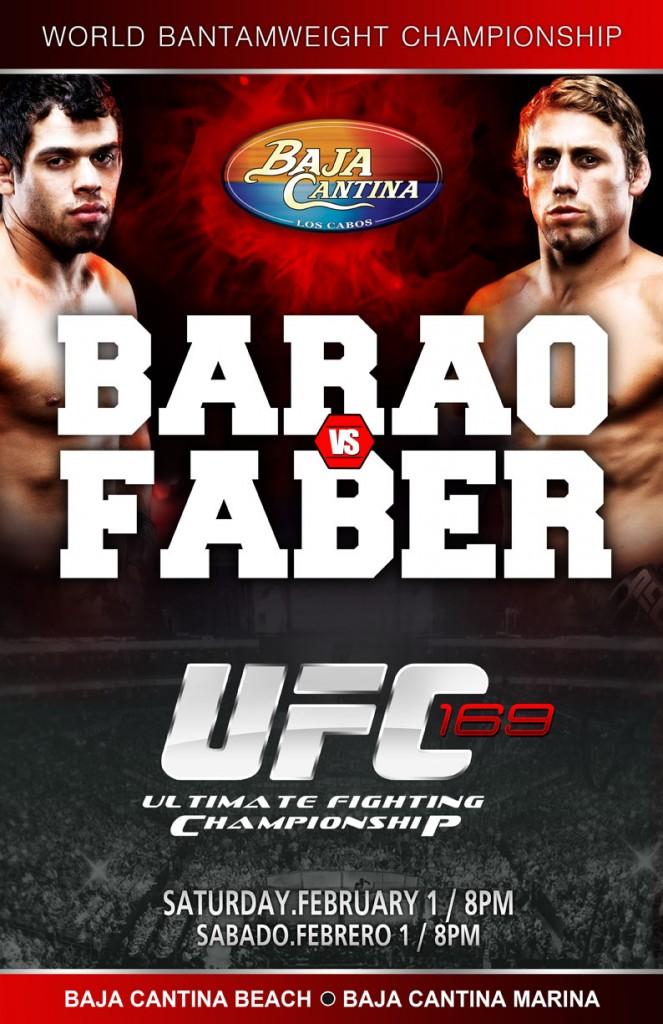 UFC Barao vs Faber