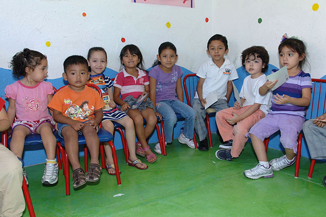 Children in kindergarten. Photo: Tyson