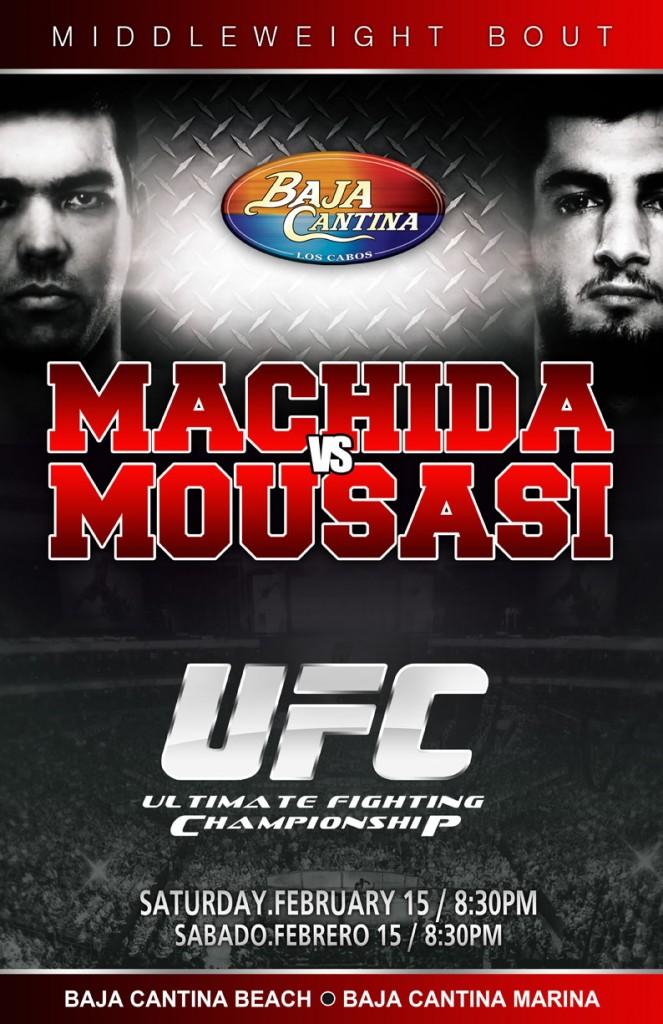UFC Machida vs Mousasi