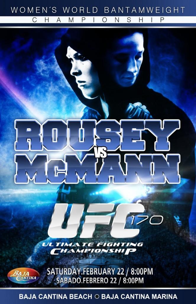 UFC Rousay vs Mc Mann