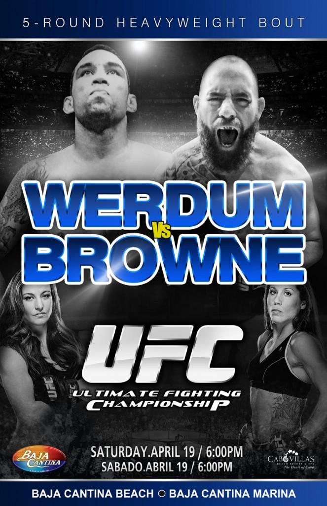 UFC Werdum vs Browne CV