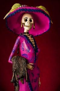 Day of the Dead Catrina figurine. Photo Bigstock.com