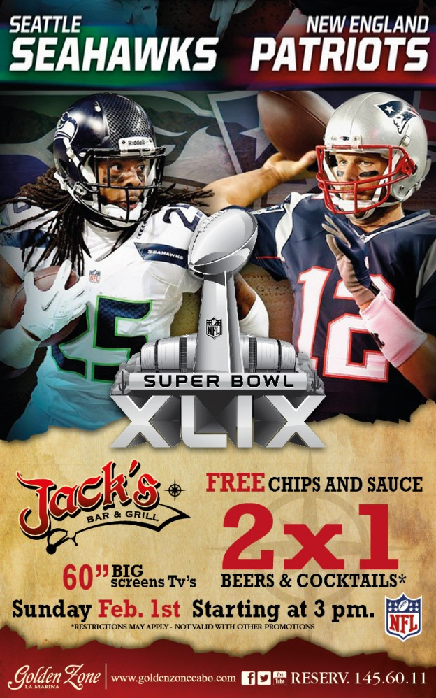 Super Bowl XLIX at Jack's Bar & Grill