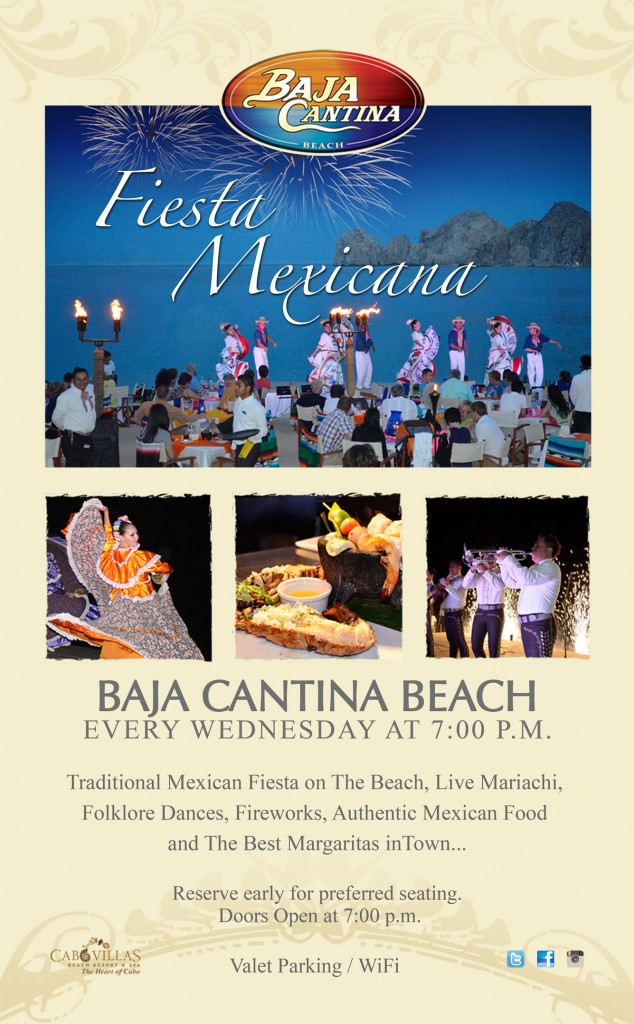 Fiesta Mexicana at Baja Cantina Beach