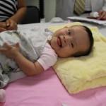 Kiara, héroe de corazón de 1 año de edad, una verdadera guerrera