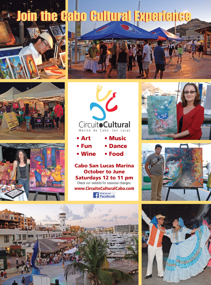 Circuito Cultural Cabo returns October 10, 2015 to Marina Cabo San Lucas.