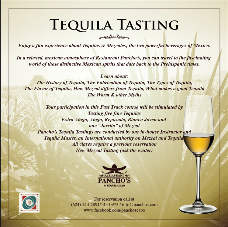 Tequila Tasting 2016