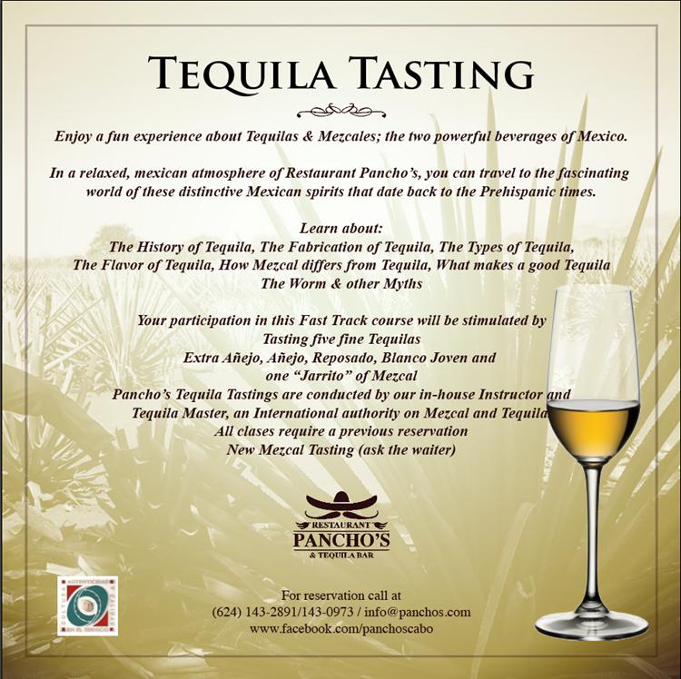 Tequila Tasting 2016