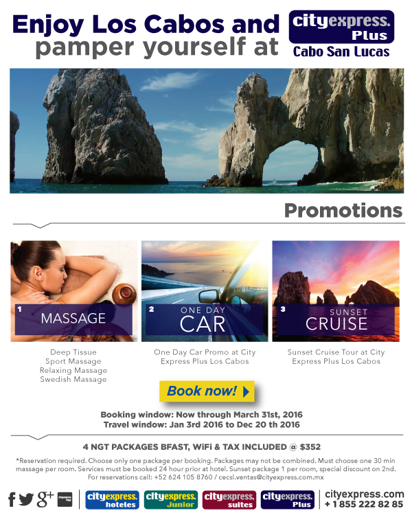 CITY EXPRESS LOS CABOS PROMOTIONS