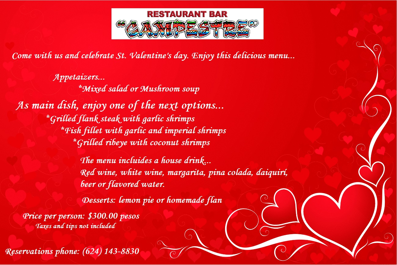 Campestre san valentin english