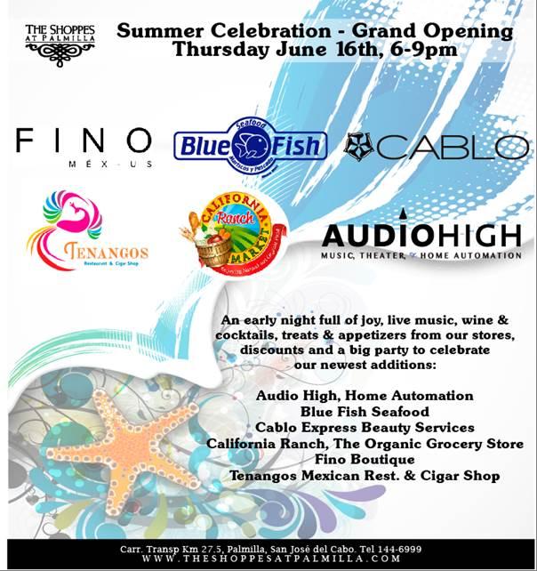 Summer Celebration - The Shoppes At Palmilla