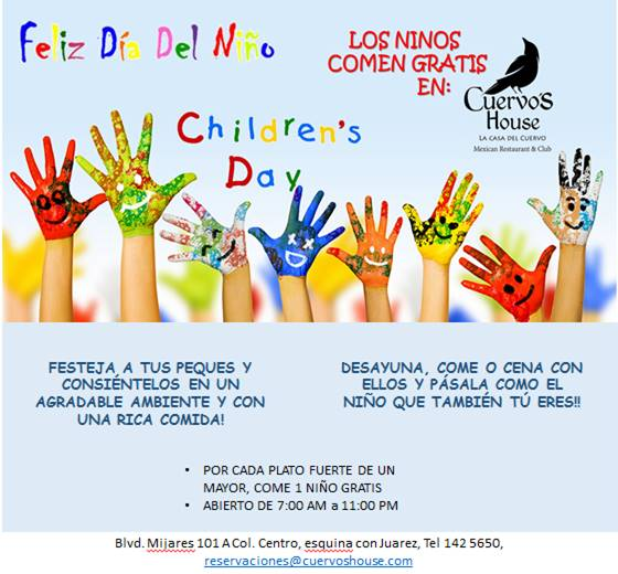 Childrens Day at Cuervos House