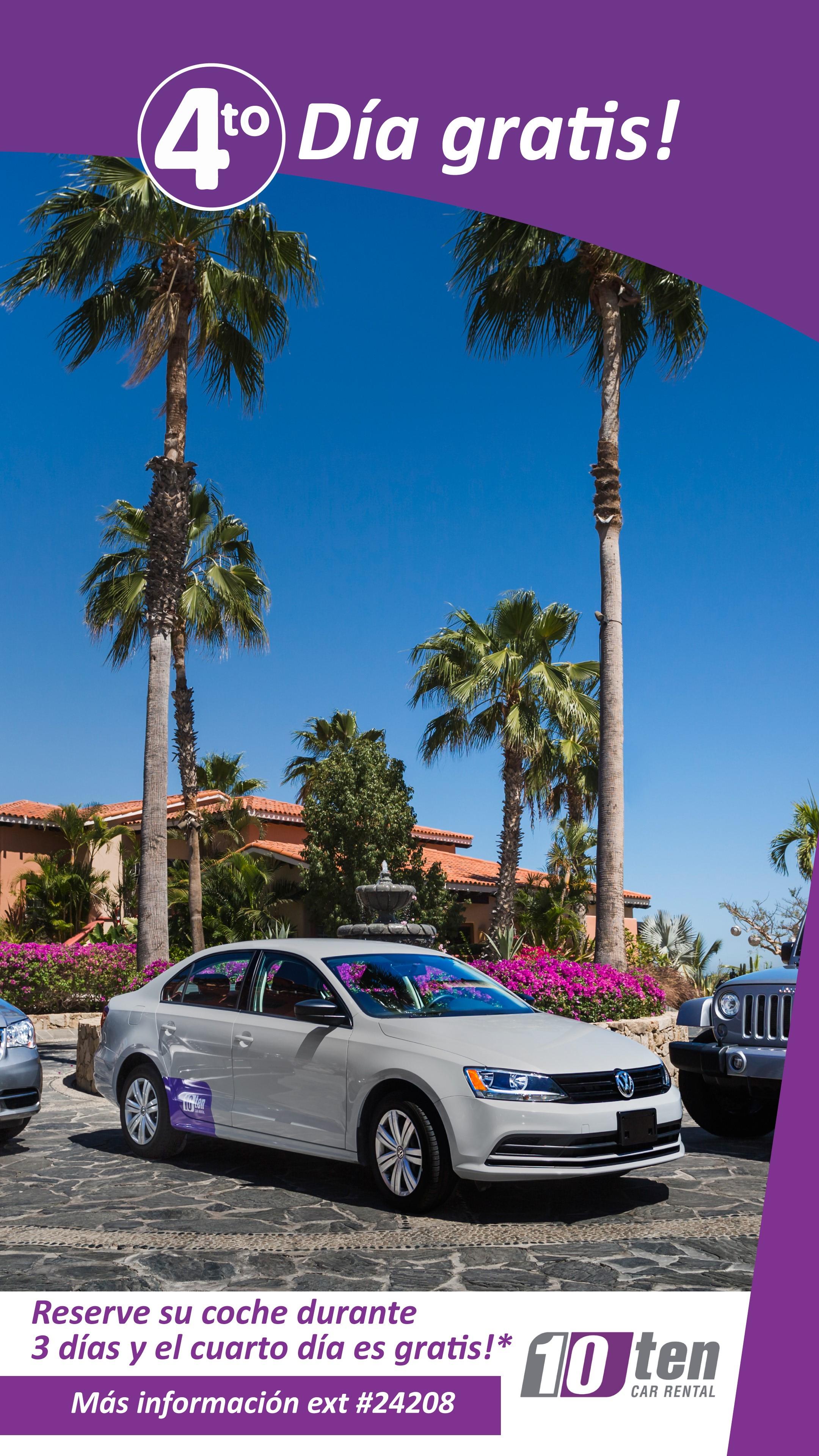 Ten Car Rental Cabo