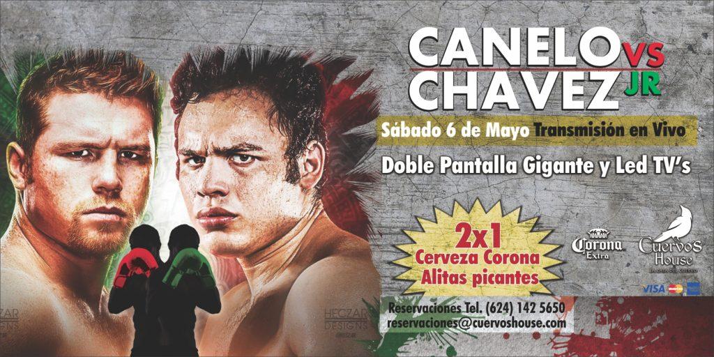 canelo vs chavez jr transmision en vivo cuervos house