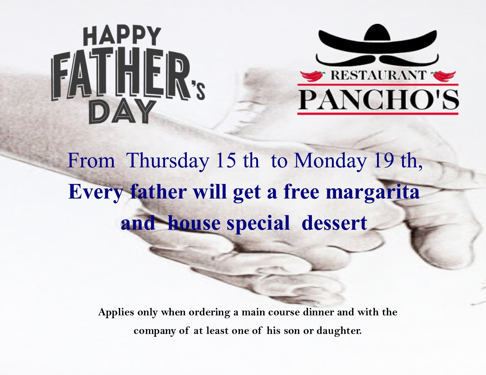 Father´s Day at Panchos Restaurant