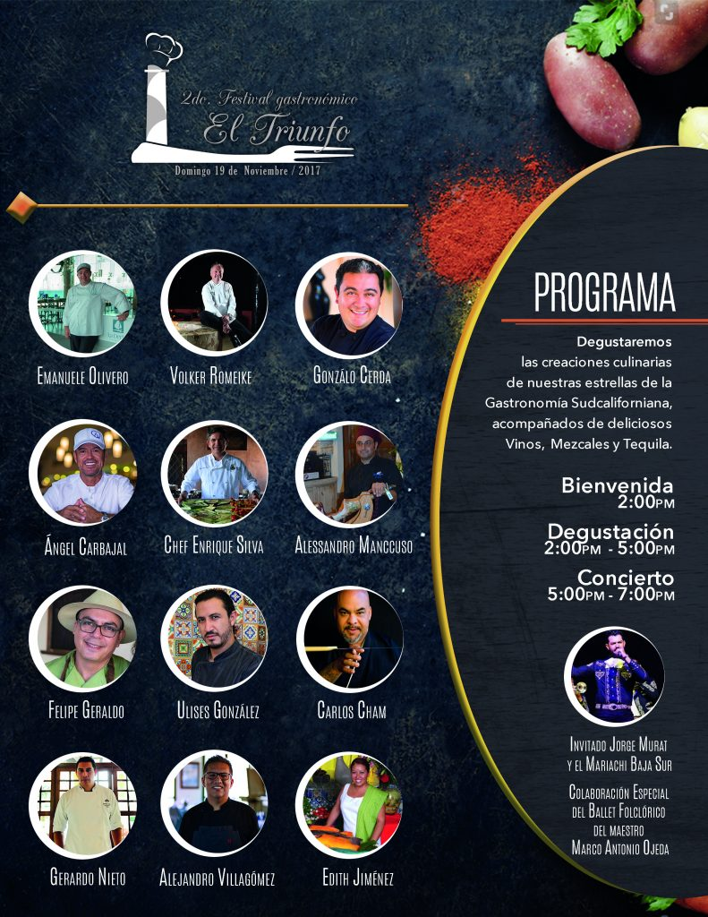 Programa del II Festival El Triunfo