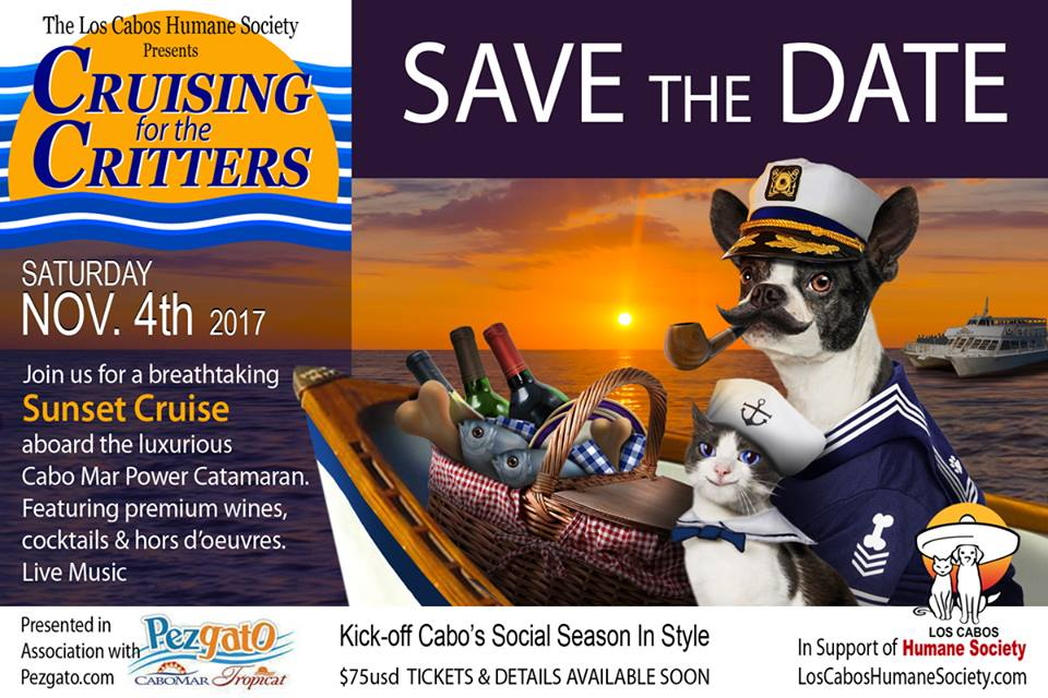 SAVE the DATE- Cruising for the Critters!